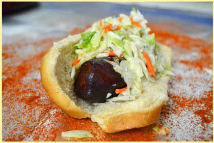Hot Links BBQ Sandwich