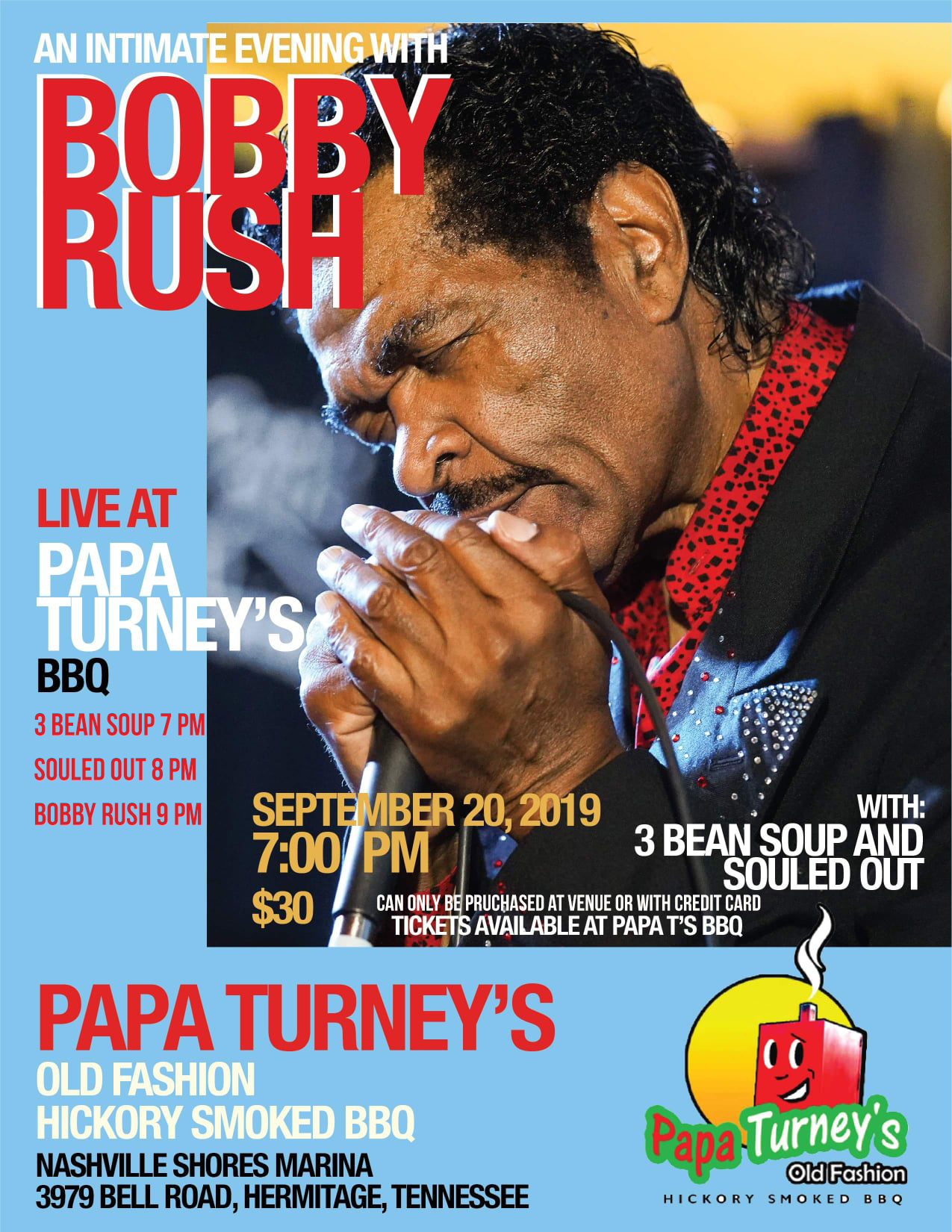 Bobby Rush poster