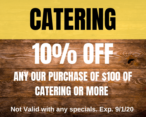 Papa Turney's Catering Special 9120